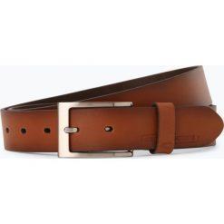 Camel Active - Męski pasek skórzany, beżowy. Brązowe paski męskie marki Camel Active, w paski, ze skóry, klasyczne. Za 99,95 zł.
