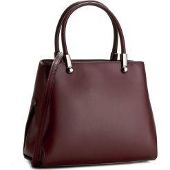Torebka CREOLE - K10301  Bordowy. Czerwone torebki klasyczne damskie Creole, ze skóry. W wyprzedaży za 229,00 zł.