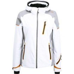 Odzież damska: CMP WOMAN ZIP HOOD JACKET Kurtka narciarska bianco