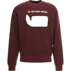GStar REVIR STOR RAGLAN R SW L/S Bluza dark fig heather. Czerwone bluzy męskie G-Star, l, z bawełny. Za 369,00 zł.