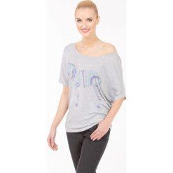 T-shirty damskie: T-shirt z zebrą