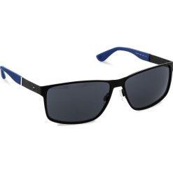 Okulary przeciwsłoneczne męskie: Okulary przeciwsłoneczne TOMMY HILFIGER – 1542/S Matt Black 003