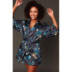Etam - Kombinezon piżamowy 650124205. Czarne piżamy damskie Etam, l, z dzianiny. Za 199,90 zł.