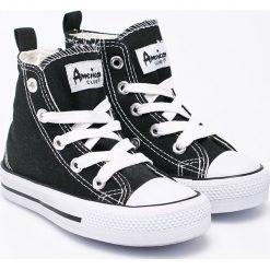 American Club - Tenisówki dziecięce. Szare buty sportowe chłopięce American CLUB, z gumy. W wyprzedaży za 19,90 zł.