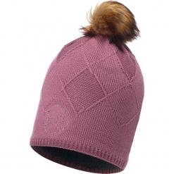Czapka damska Knitted & Polar Stella różowa (BH113523.557.10.00). Czerwone czapki zimowe damskie Buff, z polaru. Za 151,37 zł.