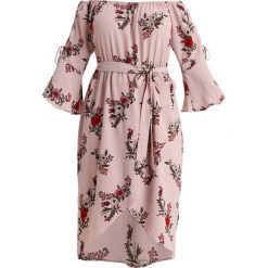 Sukienki hiszpanki: City Chic DRESS SKYE FLORAL Sukienka koktajlowa rose