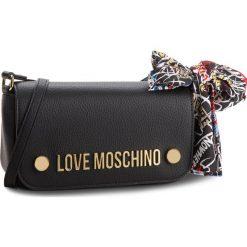 Torebka LOVE MOSCHINO - JC4126PP16LV0000 Nero. Czarne listonoszki damskie marki Love Moschino, ze skóry ekologicznej. W wyprzedaży za 459,00 zł.
