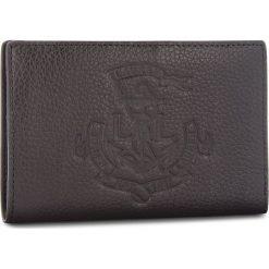 Portfele damskie: Duży Portfel Damski LAUREN RALPH LAUREN - New Compact 432707746001 Black