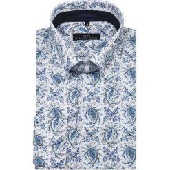 Koszula JUSEPPE KDBS000053. Niebieskie koszule męskie na spinki marki Giacomo Conti, m, z tkaniny, klasyczne. Za 229,00 zł.