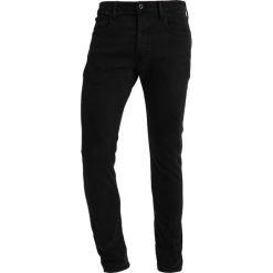 GStar 3301 DECONSTRUCTED SLIM Jeansy Slim Fit hino black stretch denim. Czarne jeansy męskie relaxed fit marki G-Star. Za 419,00 zł.