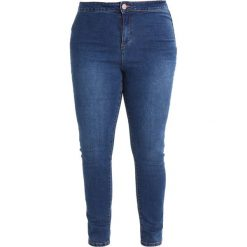 Lost Ink Plus Jeans Skinny Fit mid denim. Niebieskie jeansy damskie marki Lost Ink Plus. Za 169,00 zł.