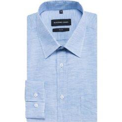 Koszula SIMONE KLBS500030. Białe koszule męskie na spinki marki Giacomo Conti, m, z bawełny, z klasycznym kołnierzykiem. Za 259,00 zł.