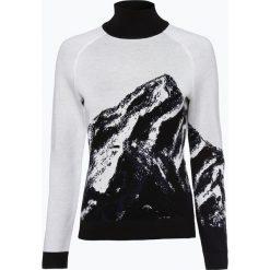 Swetry klasyczne damskie: HUGO - Sweter damski z dodatkiem jedwabiu – Storie, beżowy
