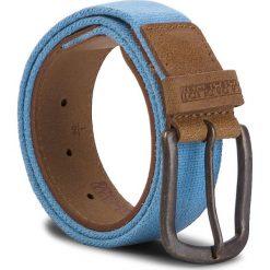 Pasek Męski NAPAPIJRI - Pallet N0YHI5 Light Blue BC2. Brązowe paski męskie marki Napapijri, w paski, z materiału. W wyprzedaży za 179,00 zł.