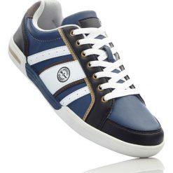 Buty sznurowane bonprix indygo-czarno-biały. Niebieskie buty skate męskie bonprix, na sznurówki. Za 89,99 zł.