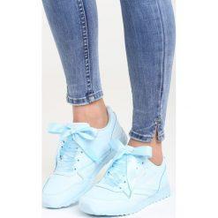 Niebieskie Buty Sportowe Most Wanted. Niebieskie buty sportowe damskie marki Born2be, z materiału. Za 89,99 zł.