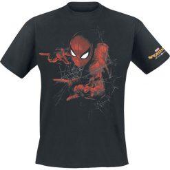 T-shirty męskie z nadrukiem: Spider-Man Homecoming – Web T-Shirt czarny
