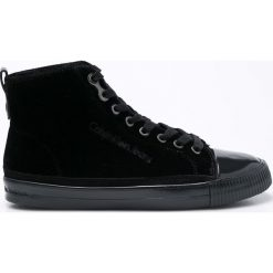 Calvin Klein Jeans - Trampki Debby. Czarne trampki i tenisówki damskie marki Calvin Klein Jeans, z jeansu. Za 379,90 zł.