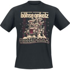 T-shirty męskie z nadrukiem: Böhse Onkelz Wieder E.I.N.S. T-Shirt czarny