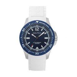 """Zegarki męskie: Zegarek """"NAPMAU004"""" w kolorze białym"""