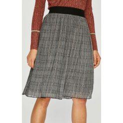 Broadway - Spódnica. Szare spódniczki rozkloszowane Broadway, m, z elastanu, z podwyższonym stanem, midi. W wyprzedaży za 139,90 zł.