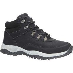 Czarne buty trekkingowe sznurowane Casu 612-1. Czarne buty trekkingowe męskie Casu, na sznurówki. Za 89,99 zł.