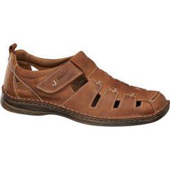 Sandały damskie: sandały męskie Gallus brązowe