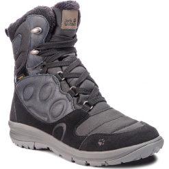 Śniegowce JACK WOLFSKIN - Vancouver Texapore High W 4020631 Black. Czarne buty zimowe damskie Jack Wolfskin, z lakierowanej skóry. Za 689,99 zł.