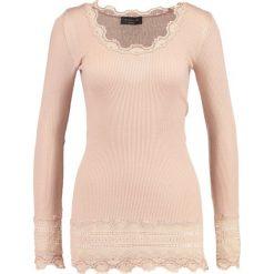 Bluzki asymetryczne: Rosemunde Bluzka z długim rękawem rose dust