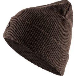 Czapka męska CAM603 - brąz - Outhorn. Brązowe czapki zimowe męskie Outhorn. Za 29,99 zł.
