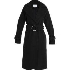 Mint&berry Płaszcz wełniany /Płaszcz klasyczny black/black. Czarne płaszcze damskie wełniane marki mint&berry, klasyczne. Za 509,00 zł.