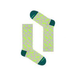 Wilcza 13m2 - Skarpetki łydki. Zielone skarpetki męskie marki Hummel, z bawełny. Za 25,50 zł.