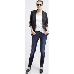 GStar LYNN MID SKINNY  Jeans Skinny Fit slander blue superst. Białe rurki damskie marki G-Star, z nadrukiem. Za 559,00 zł.