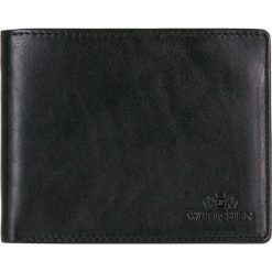 Portfel 14-1-040-11. Czarne portfele męskie marki Wittchen. Za 143,20 zł.