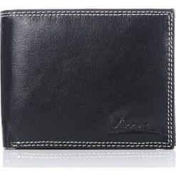 Portfele męskie: Elegancki portfel męski Vieenza w pudełku na prezent