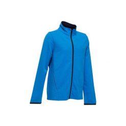 Bluza 100 Gym. Niebieskie bluzy chłopięce rozpinane DOMYOS. Za 29,99 zł.