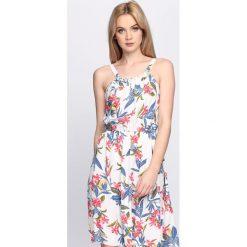 Sukienki: Biała Sukienka Rhapsody