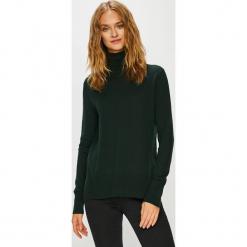 Calvin Klein - Sweter. Czarne golfy damskie Calvin Klein, l, z bawełny. Za 599,90 zł.