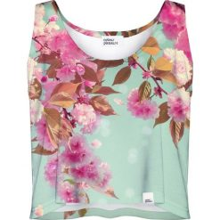 Colour Pleasure Koszulka damska CP-035 221 różowo-miętowa r. XL-XXL. Różowe bluzki damskie marki Colour pleasure. Za 64,14 zł.