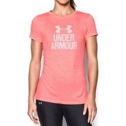 Bluzki damskie: Under Armour Koszulka damska Tech Crew- Graphic Twist różowa r. S (1298411-963)