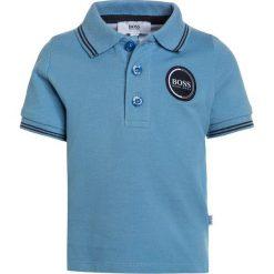 BOSS Kidswear BABY LAYETTE  Koszulka polo himmelblau. Niebieskie bluzki dziewczęce bawełniane marki BOSS Kidswear. Za 179,00 zł.