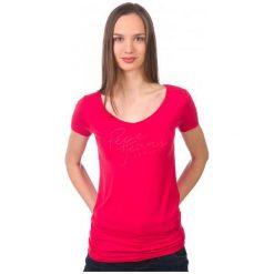 Pepe Jeans T-Shirt Damski Kate S Czerwony. Czerwone t-shirty damskie marki Pepe Jeans, s, z jeansu. W wyprzedaży za 94,00 zł.