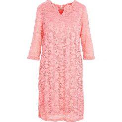 Łososiowa Sukienka My Type. Czerwone sukienki marki Born2be, midi. Za 54,99 zł.
