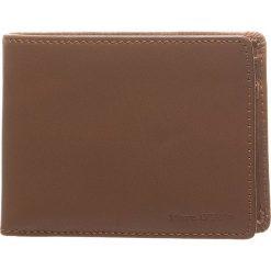 Skórzany portfel w kolorze jasnobrązowym - 10 x 8 x 2,5 cm. Portfele męskie Marc O'Polo Accessoires, z materiału. W wyprzedaży za 90,95 zł.