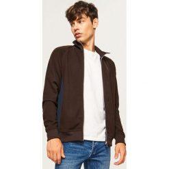 Bluza ze stójką - Brązowy. Brązowe bluzy męskie marki Reserved, l. W wyprzedaży za 59,99 zł.