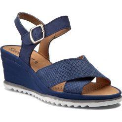 Rzymianki damskie: Sandały COMFORTABEL – 710827 Blau 5