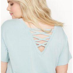 T-shirty damskie: T-shirt z fantazyjnym tyłem