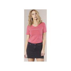 T-shirty z krótkim rękawem Benetton  AVILOL. Czerwone t-shirty damskie marki Benetton. Za 55,20 zł.
