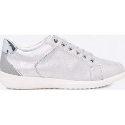 Geox - Buty. Szare buty sportowe damskie marki Geox, z gumy. W wyprzedaży za 239,90 zł.