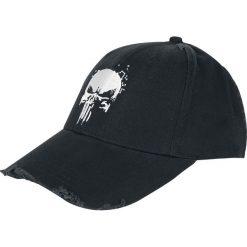 The Punisher Skull Logo - Vintage Czapka baseballowa czarny. Czarne czapki z daszkiem damskie The Punisher, z napisami. Za 79,90 zł.